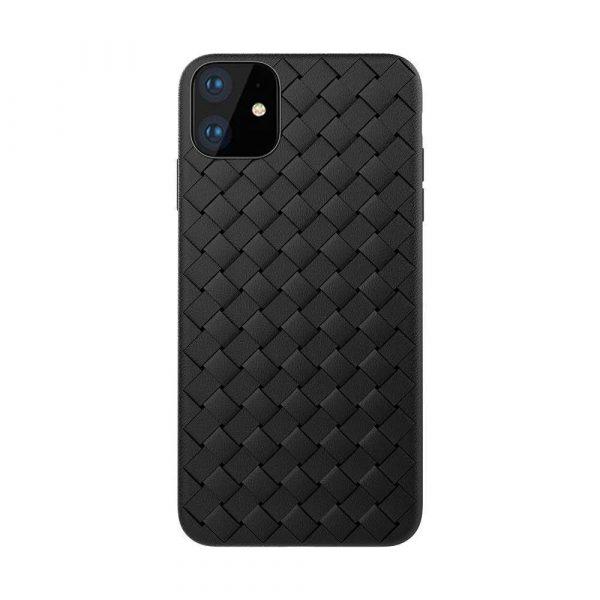 Woven Pattern Design Soft Case – iPhone 11