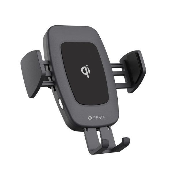 Navigation magnetic wireless charger car mount