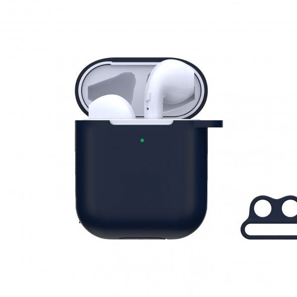 Naked Silicone Case Suit for AirPods(with loophole)