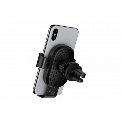 Gravity Sensor Car Air Vent Wireless Charger Phone Holder(10W)