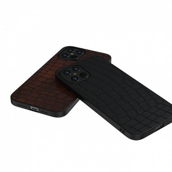 Devia Elegant Leather Case for iPhone 12