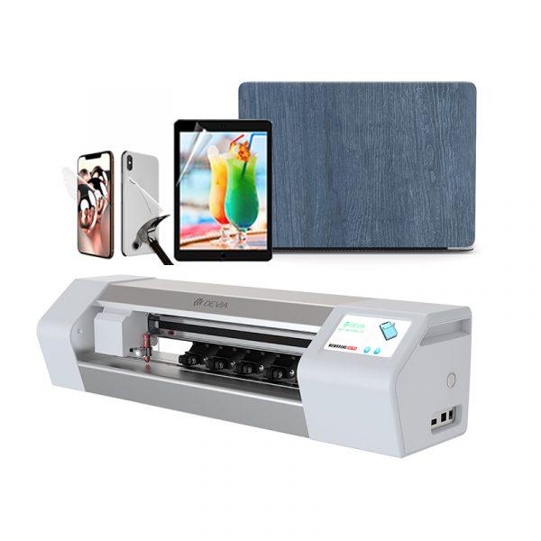 Cutting Plotter Big Size 16 inch Laptop Skin Back Cover Sticker Hydrogel TPU PET Nano Film Screen Protector Cutting machine